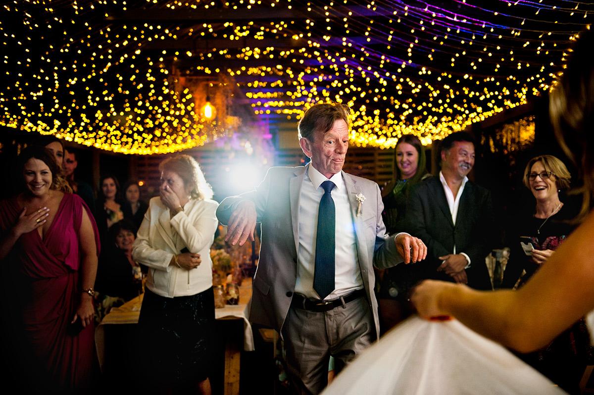 Father daughter dance - Greenfield Farm wedding photos