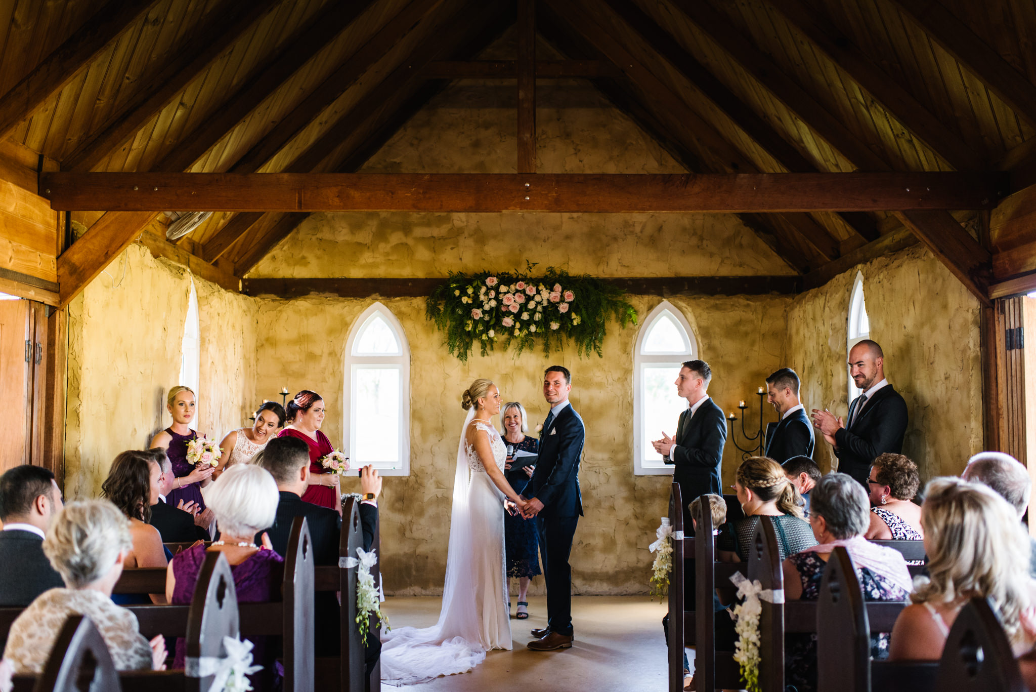 Bride and Groom Ceremony overview
