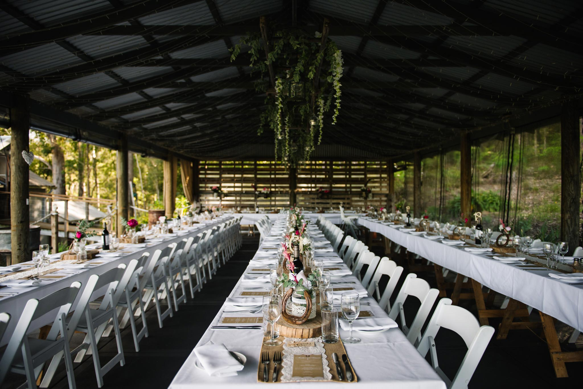Greenfield Farm Estate wedding reception