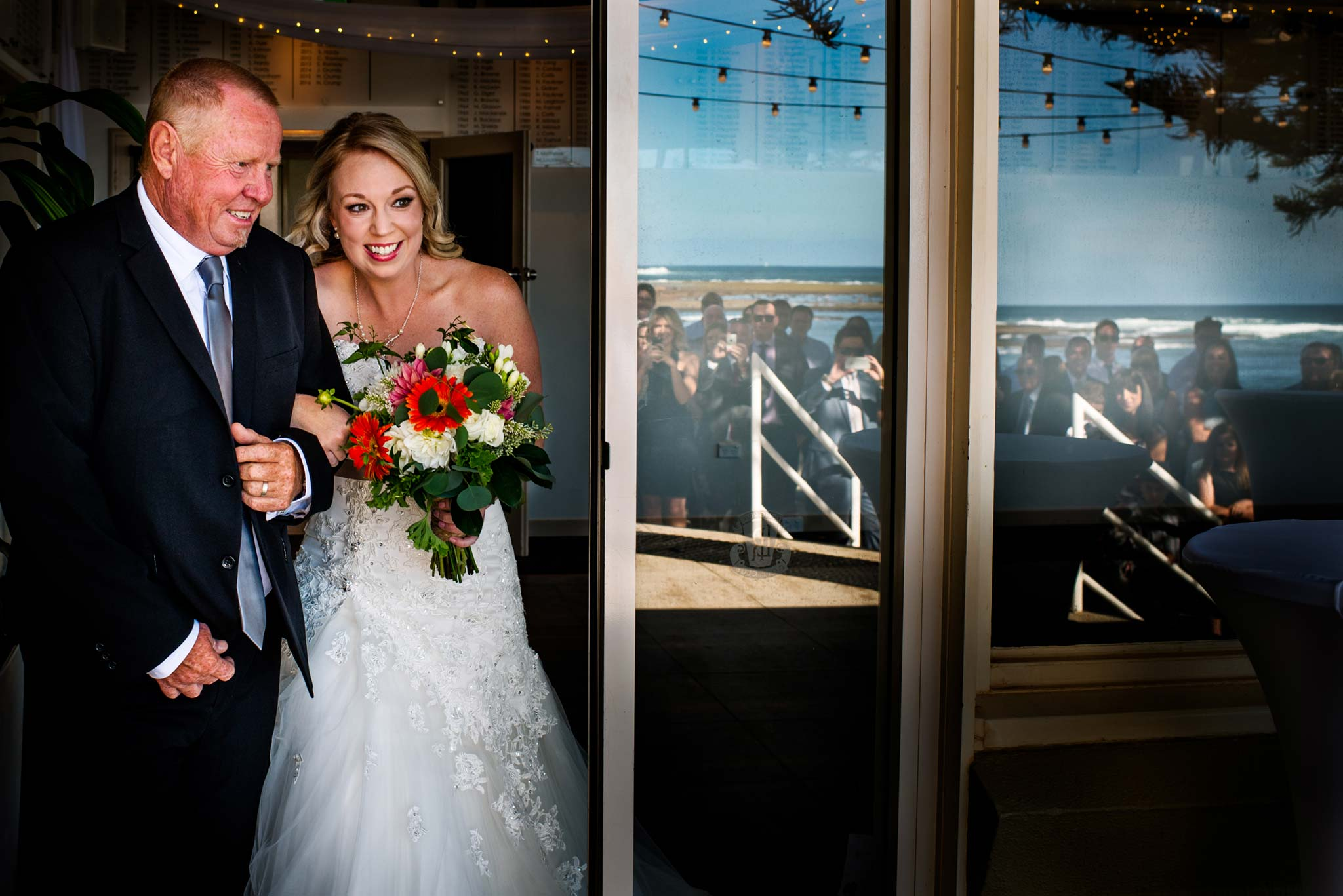 Wedding photography northern beaches - Long Reef Golf Club