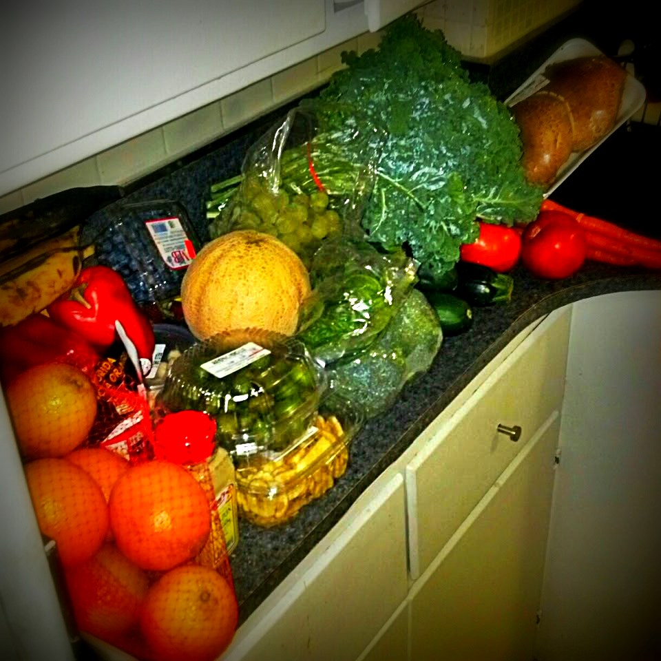 My produce last night only $42.50