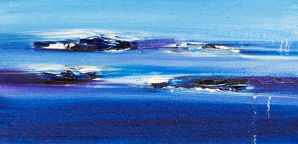 Jill Joy - Blue Surf - oil on canvas - 6x12 - 2013.jpg