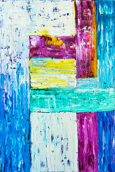 """Doorway, oil on canvas, 72x48"""", 2006 - $2,400 ON SALE $900 Thru 4/30"""