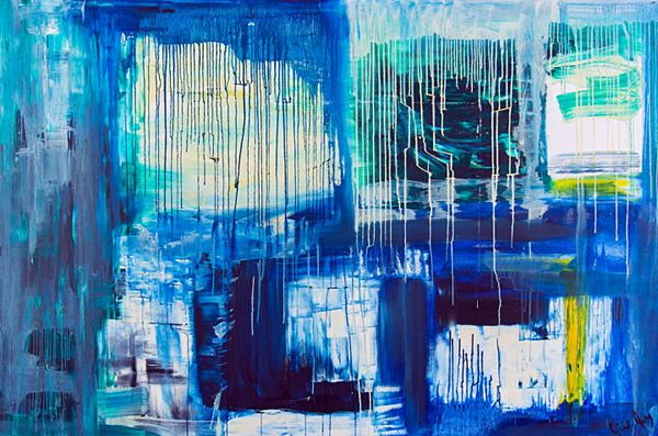 Jill Joy - Journey - oil on canvas - 48x72 - 2010 - $2,400