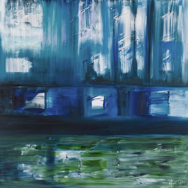Jill Joy - Transcendent Landscape - 48x48  oil on canvas - 2011 - $1,900