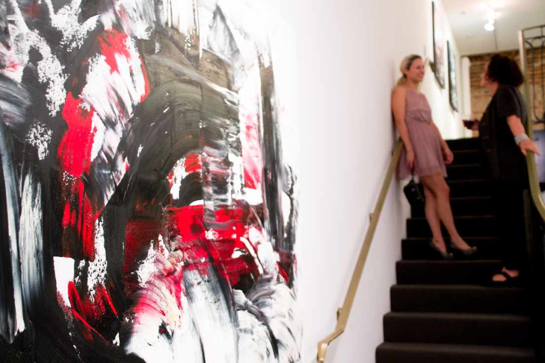 Jill Joy Gallery  - Emotion Exhibition Installation - Oct 2016 Dulcinea & Aline.jpg