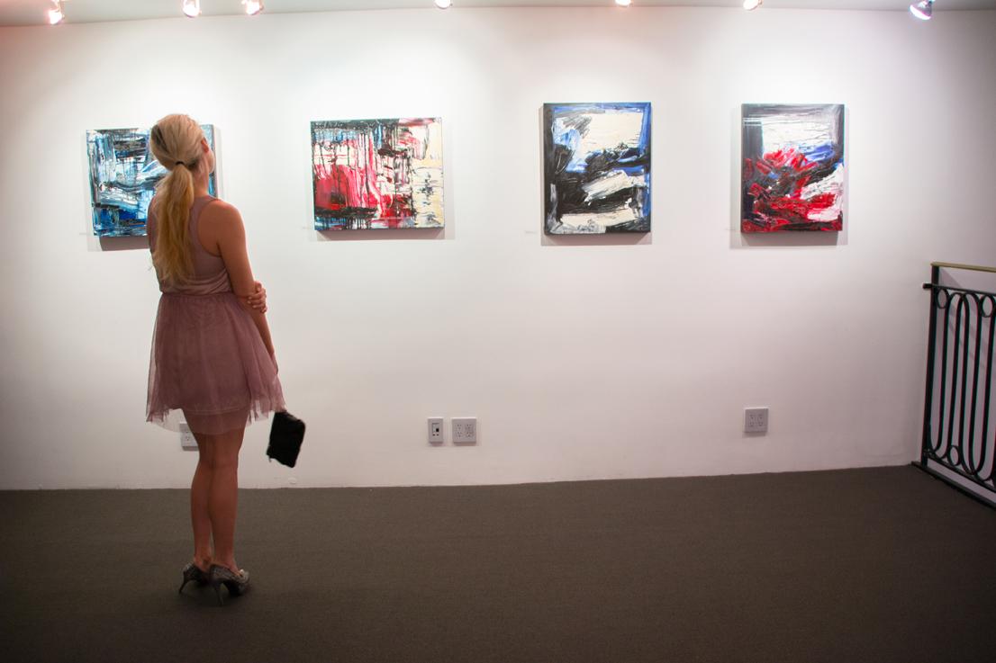 Jill Joy Gallery  - Emotion Exhibition Installation - Oct 2016 Dulcinea.jpg