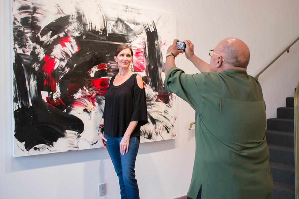 Jill Joy Gallery  - Emotion Exhibition Installation - Oct 2016 Ed Valfre Photo Shoot.jpg