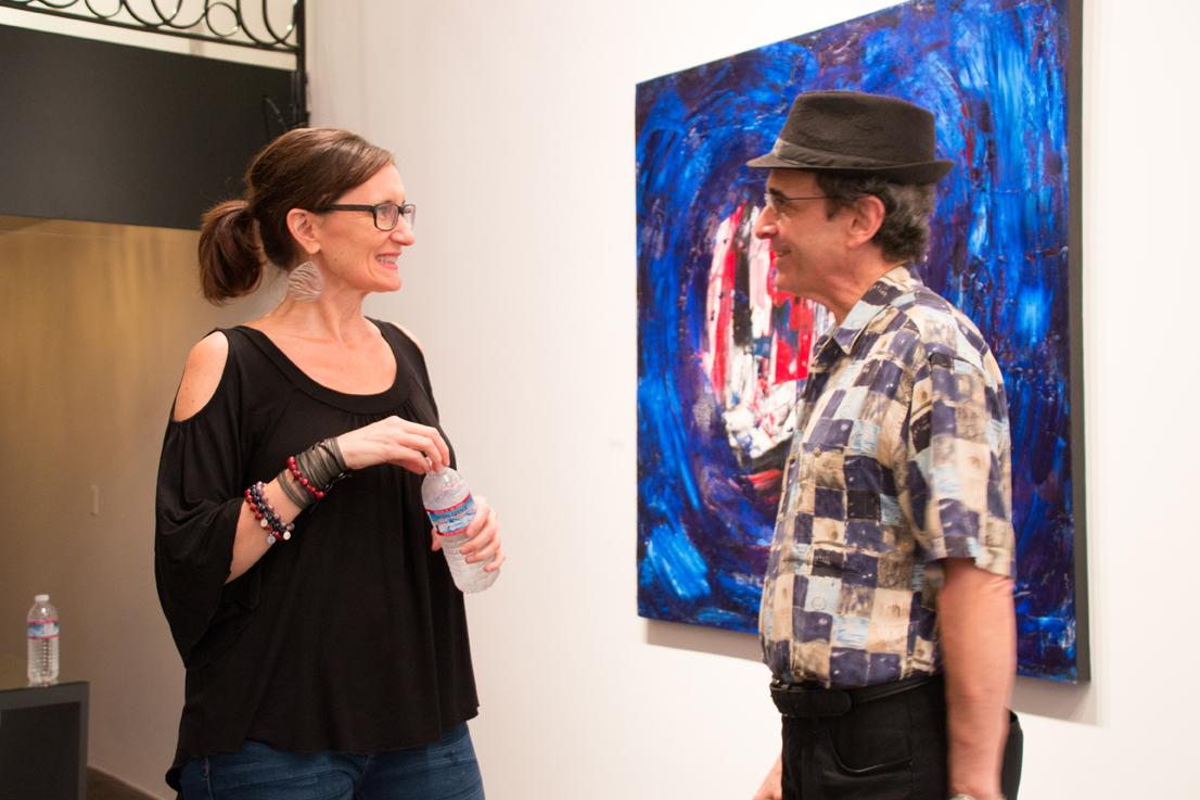 Jill Joy Gallery  - Emotion Exhibition Installation - Oct 2016 Jill Joy & Joe Po.jpg