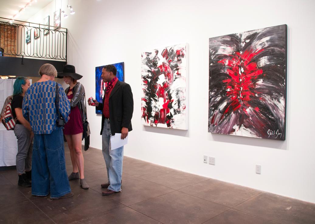Jill Joy Gallery  - Emotion Exhibition Installation - Oct 2016 Upper Level.jpg