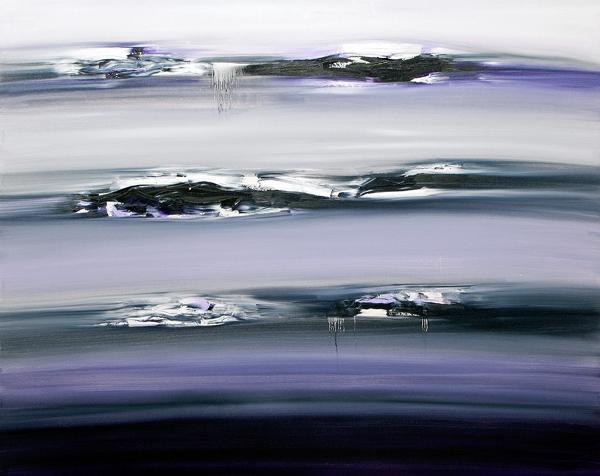 "Jill Joy - Solace - oil on canvas, 48x60"""