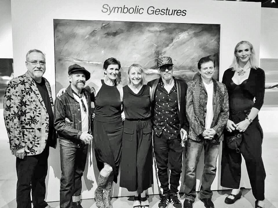 With Don Davis,  Mark Acetelli ,  Jill Joy ,  Bruce Rubenstein ,  Bill Sherwood ,  Emily Elisa Halpern  and  Anne B Schwartz . All art enthusiasts welcome!