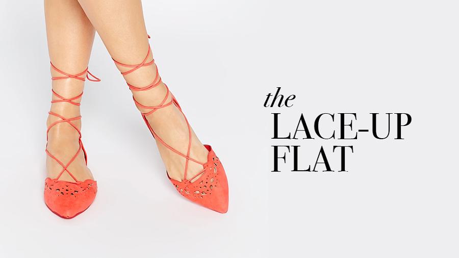 Flats + image:    ASOS