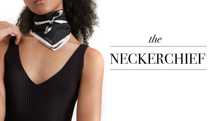 Neckerchief + image:    Aritzia