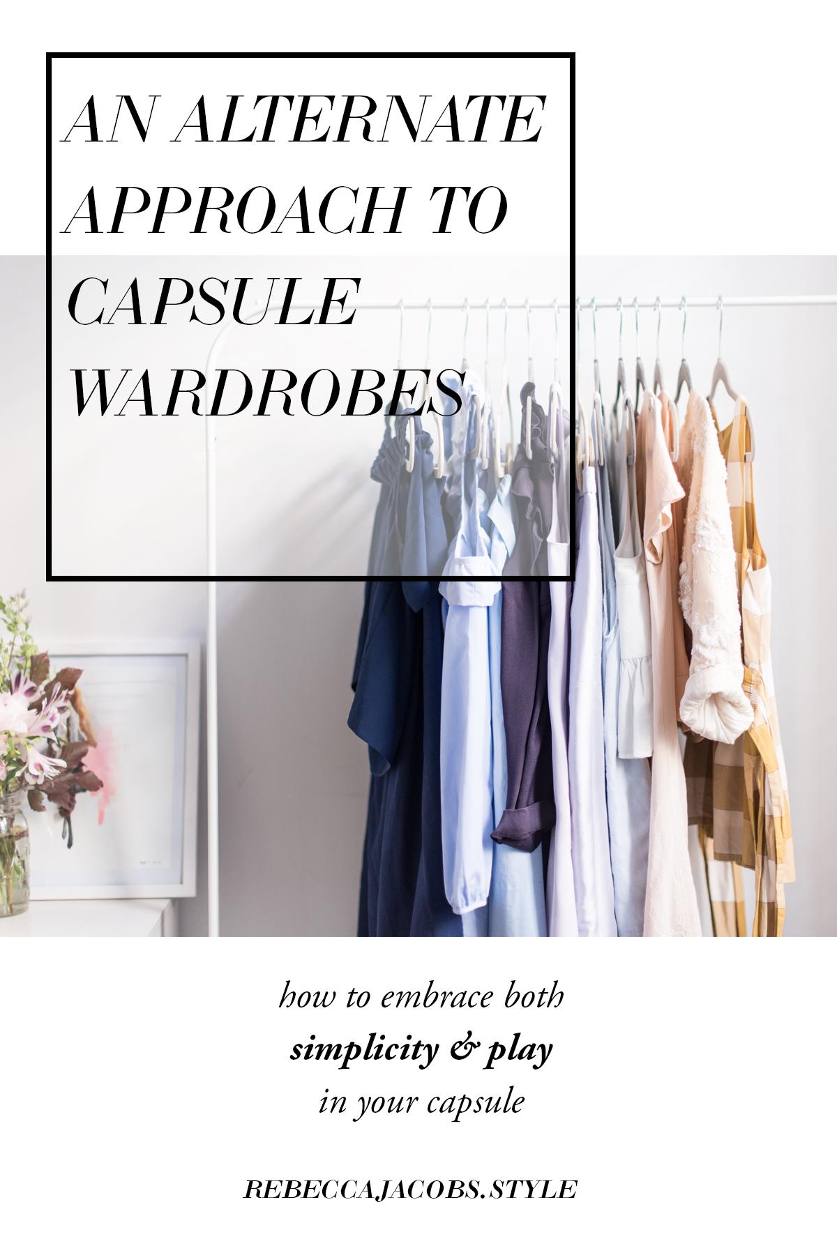 alternate capsule wardrobe