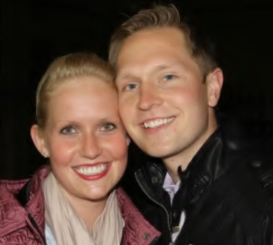 Emily and Jesse West, trainers at Alliance Stud.