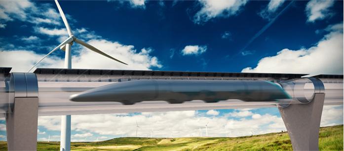 Image credit:  Hyperloop Transportation Technologies
