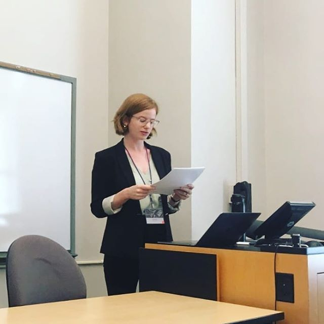 While this may look like me holding a piece of paper in an ordinary classroom, it's ALSO my first time presenting my work for dance scholars. @dsa_dancestudies is the most lovely, welcoming group! I'm so grateful for the questions my talk received and the other fabulous papers/events I witnessed this weekend.