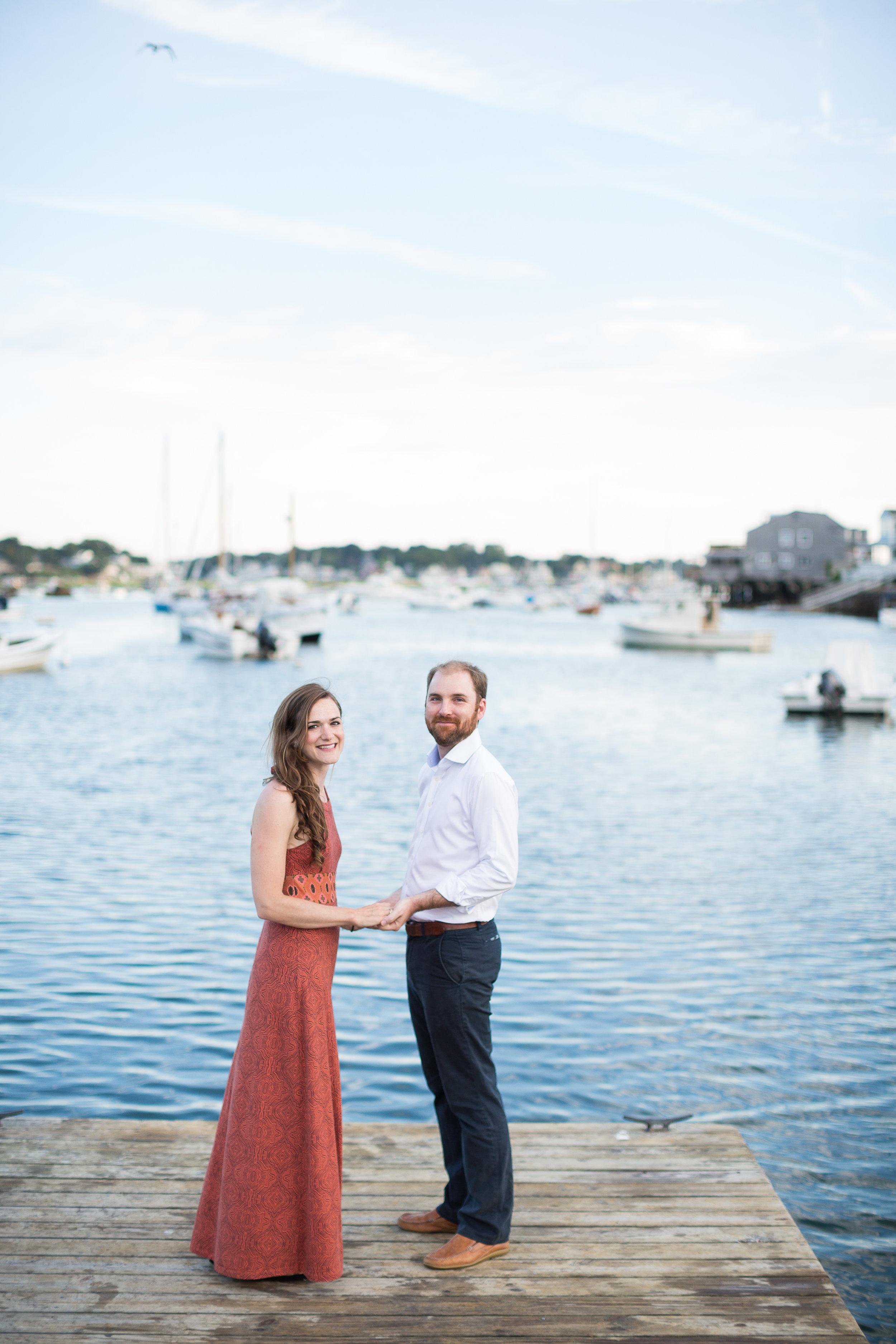 Annisquam Engagement Session | Cole + Kiera Photography