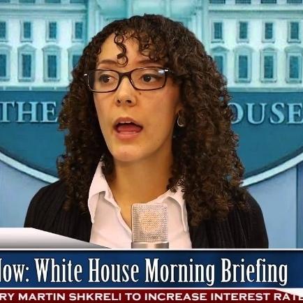 Trump Press Secretary (Video)   White House Morning Briefing in President Donald Trump's America.