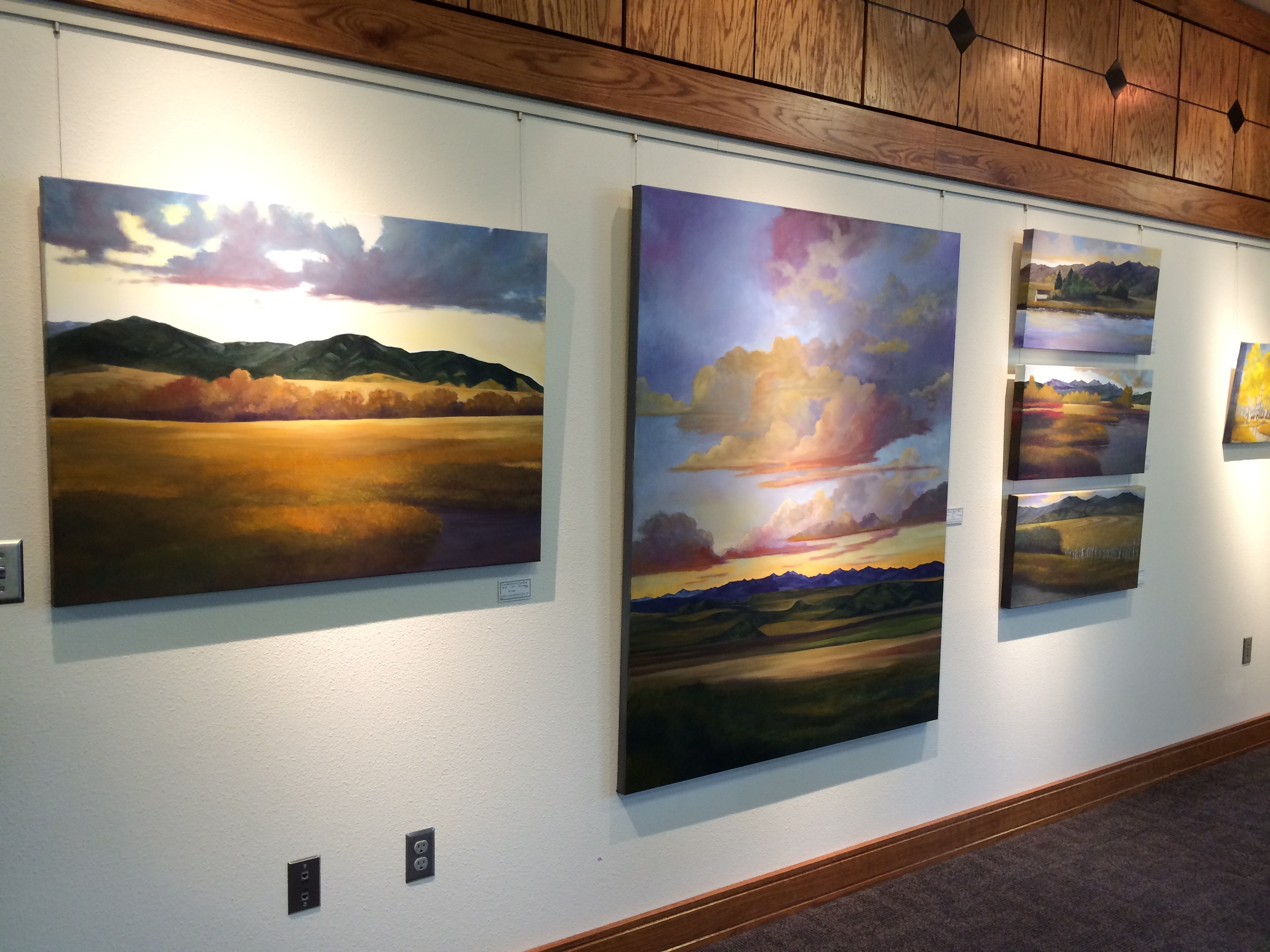 Zoot Gallery Show: Two Women, Two Visitons, One Love for the Montana Landscape. Nov. 2014- Feb. 2015   555 Zoot Enterprises Lane Four Corners M-F 8-4