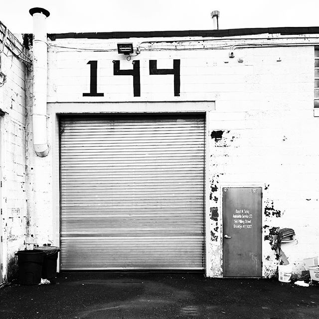 Warehouse/ parking lot space located in Brooklyn.