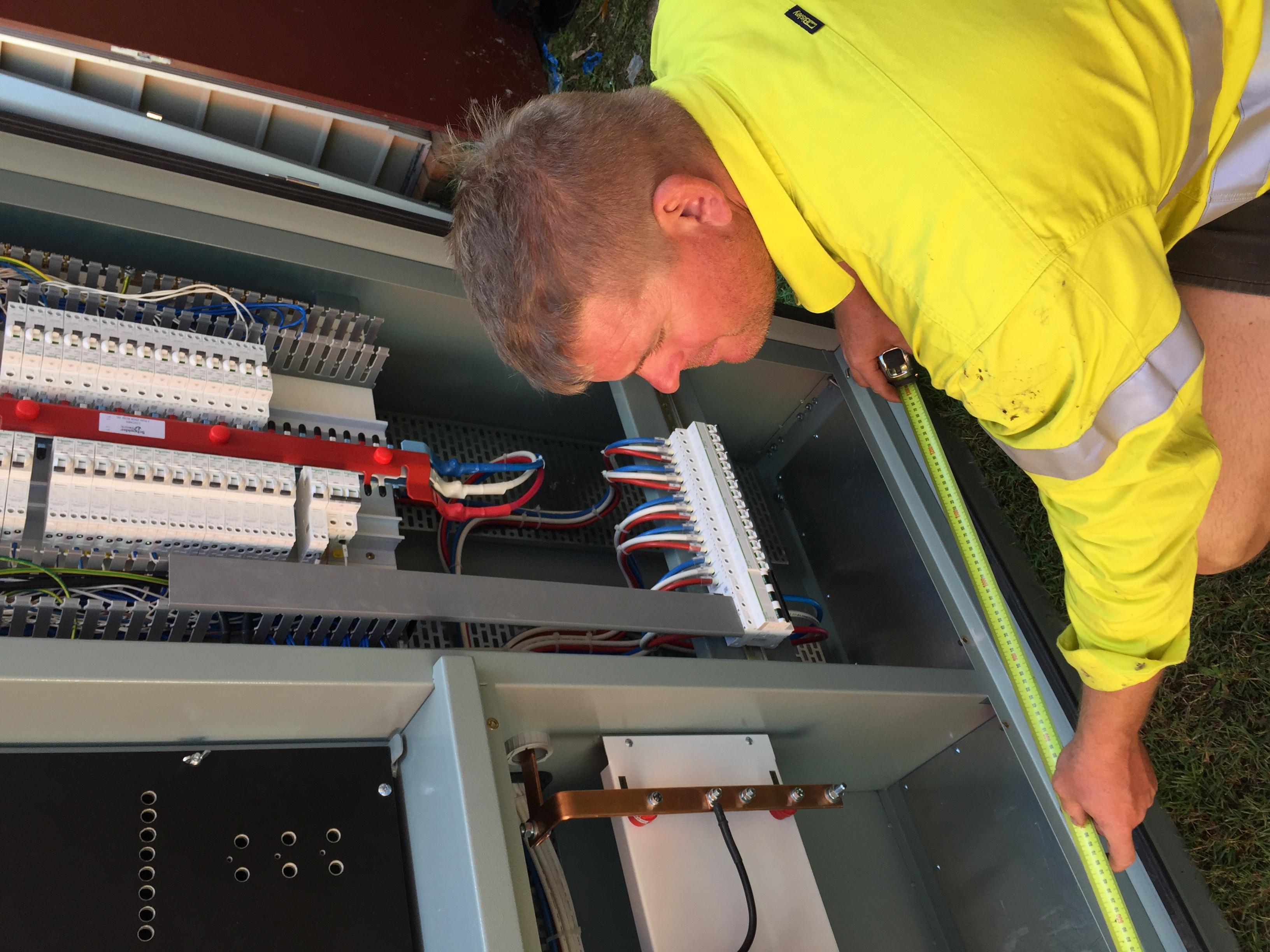 Main Switchboard upgrade, Maryborough