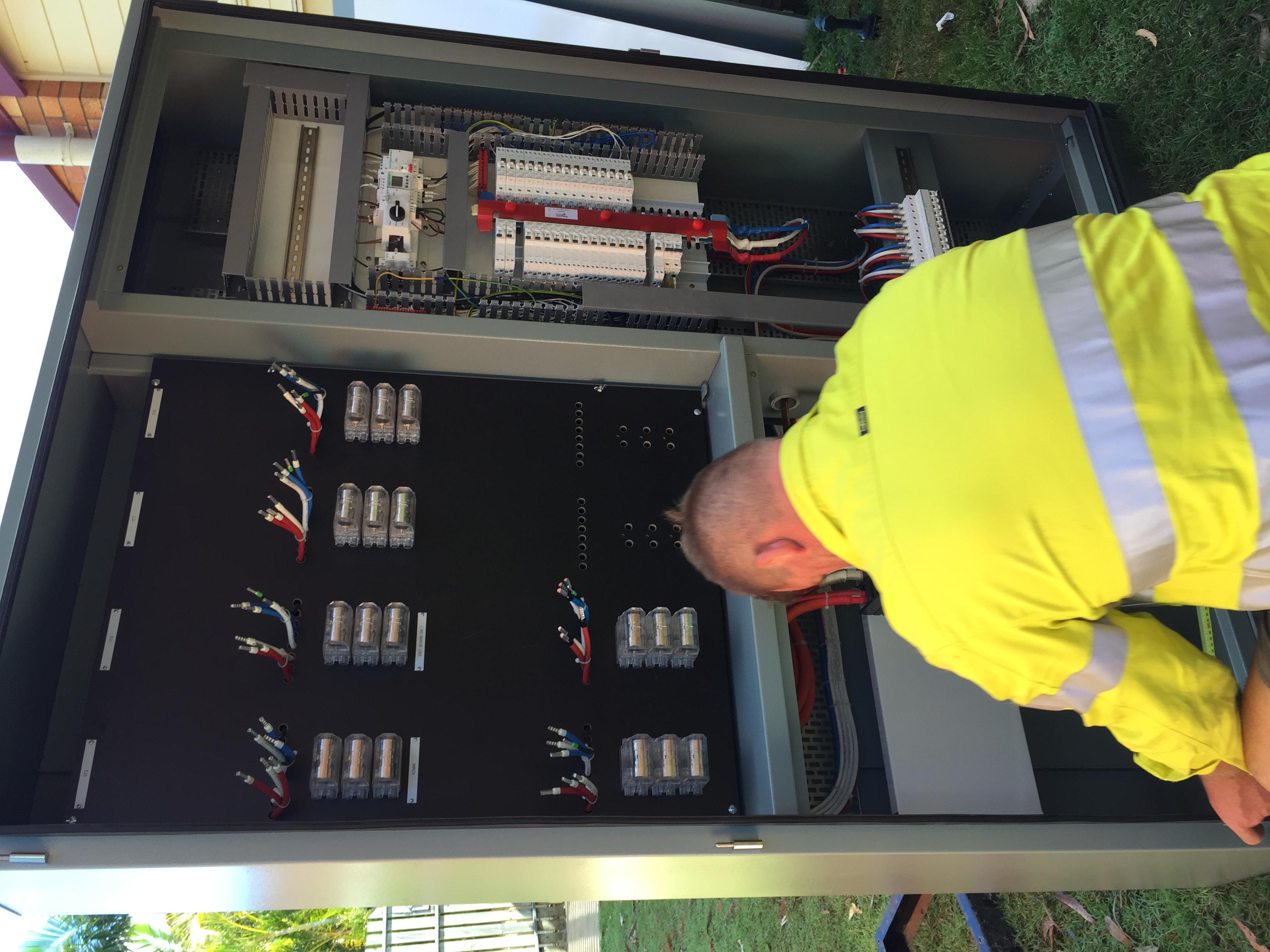 Switchboard Upgrade, Maryborough