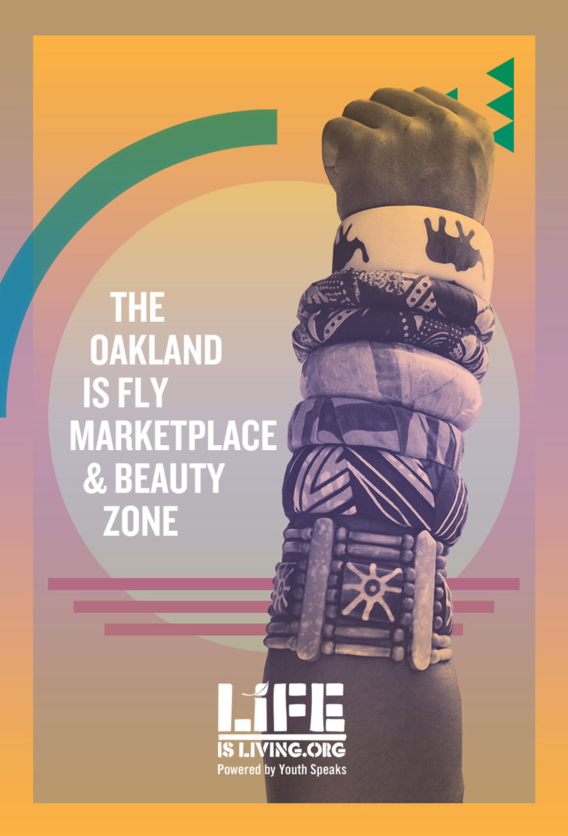 Candice is the founder of the Beauty Zone series at the Life is Living Festival. She has produced the Beauty Zone for three years each year in collaboration with visual artists and black owned businesses.