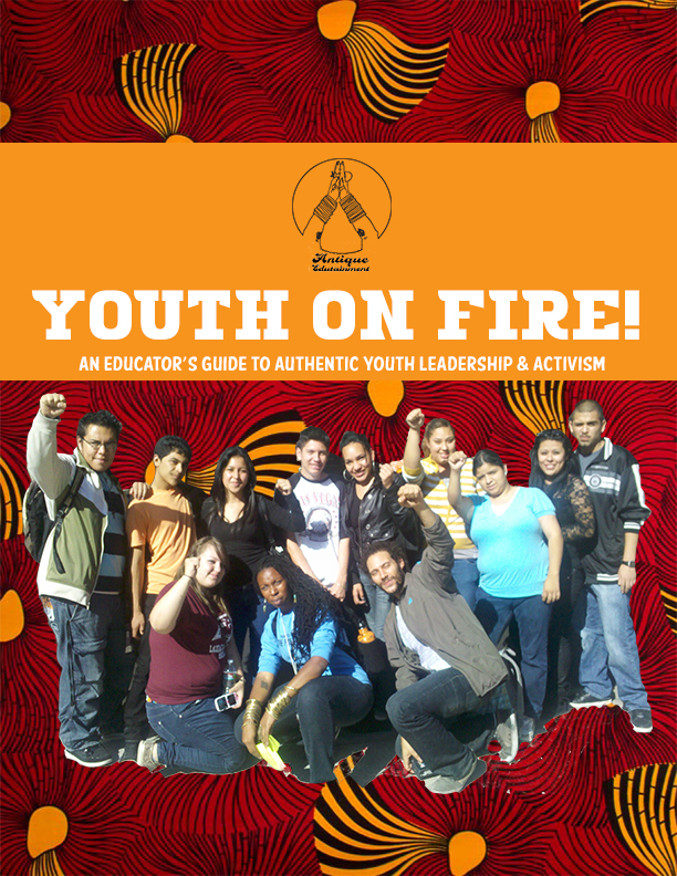 Candice wrote & developed the acclaimed 'Youth on Fire' curriculum and   annual cohort of youth development professionals   that is the model youth leadership framework for the city of San Francisco. .