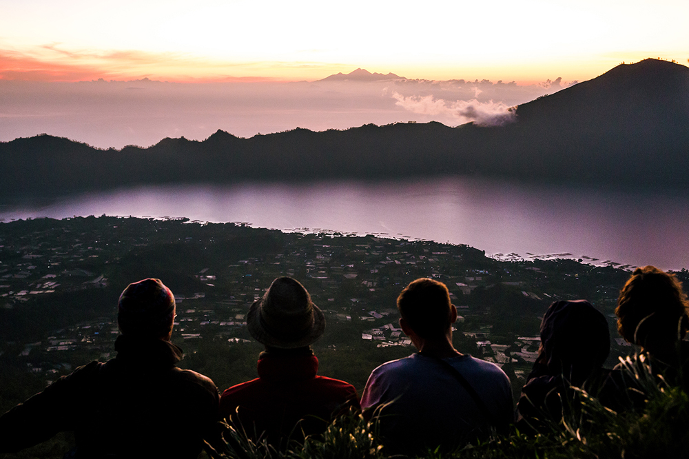 Onlookers admiring the view. Shot on my Canon 6D