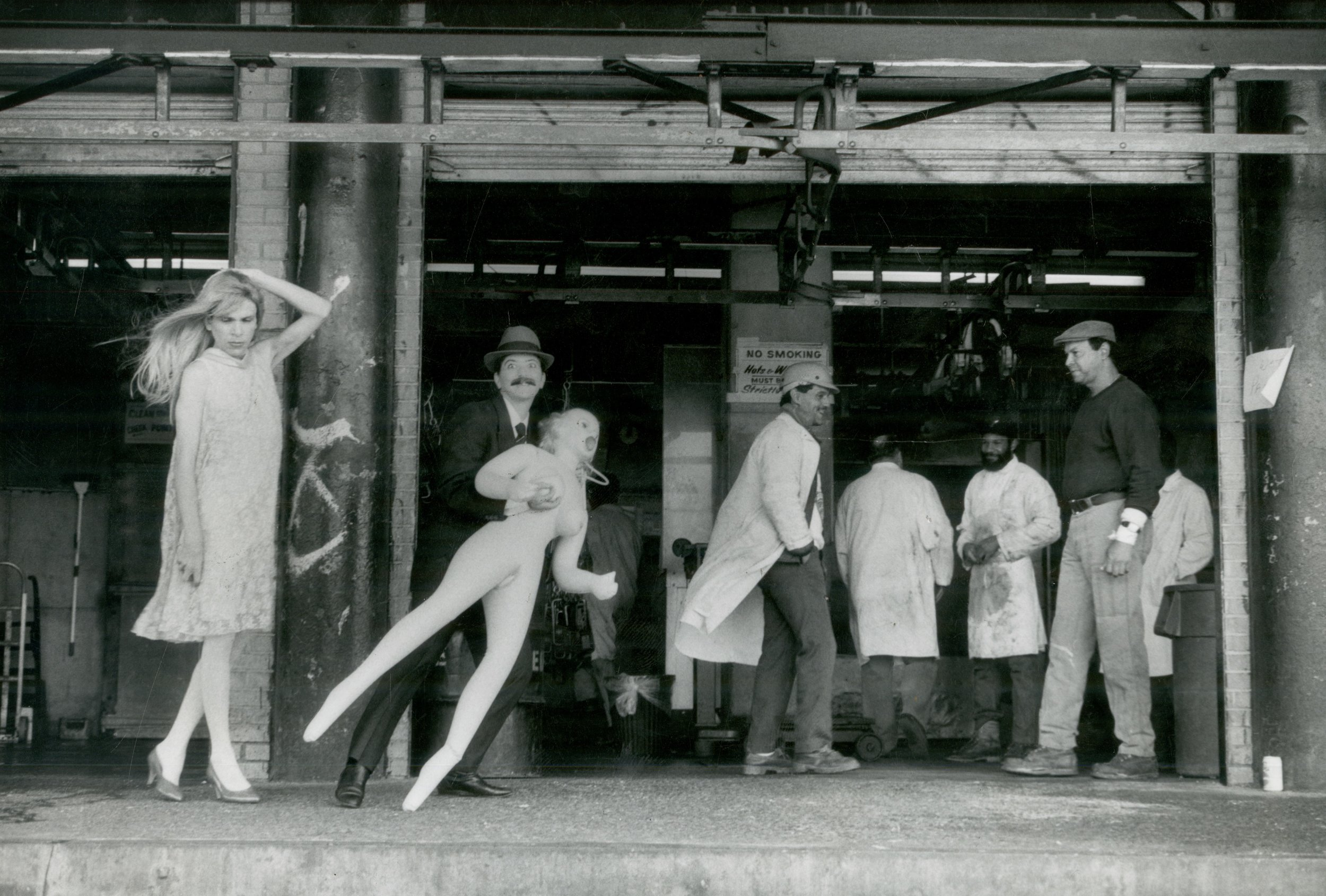 Meat Market , 1990 — in collaboration with Mariette Pathy Allen