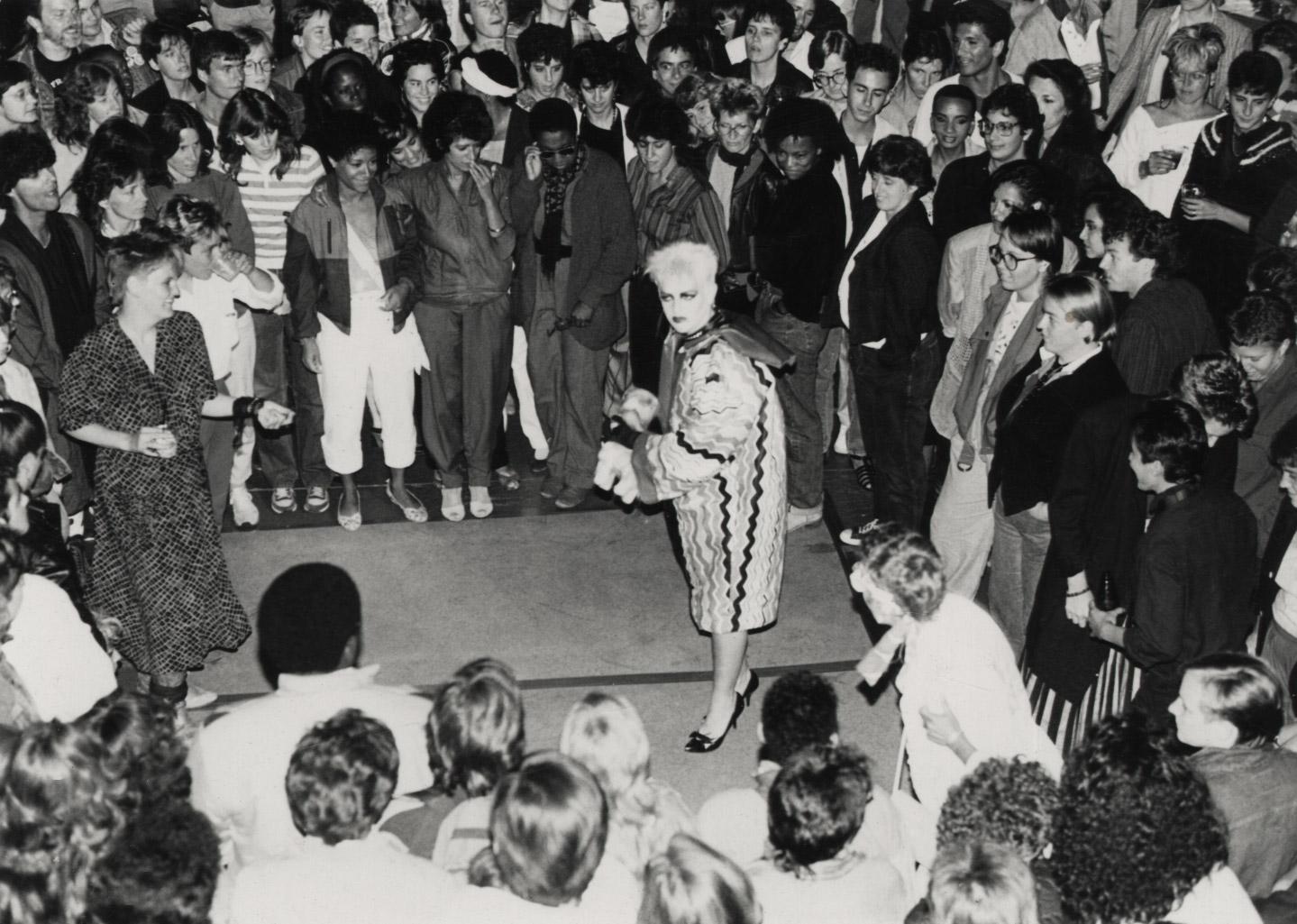 Mistress S — Bay Brick Inn, San Francisco, 1981