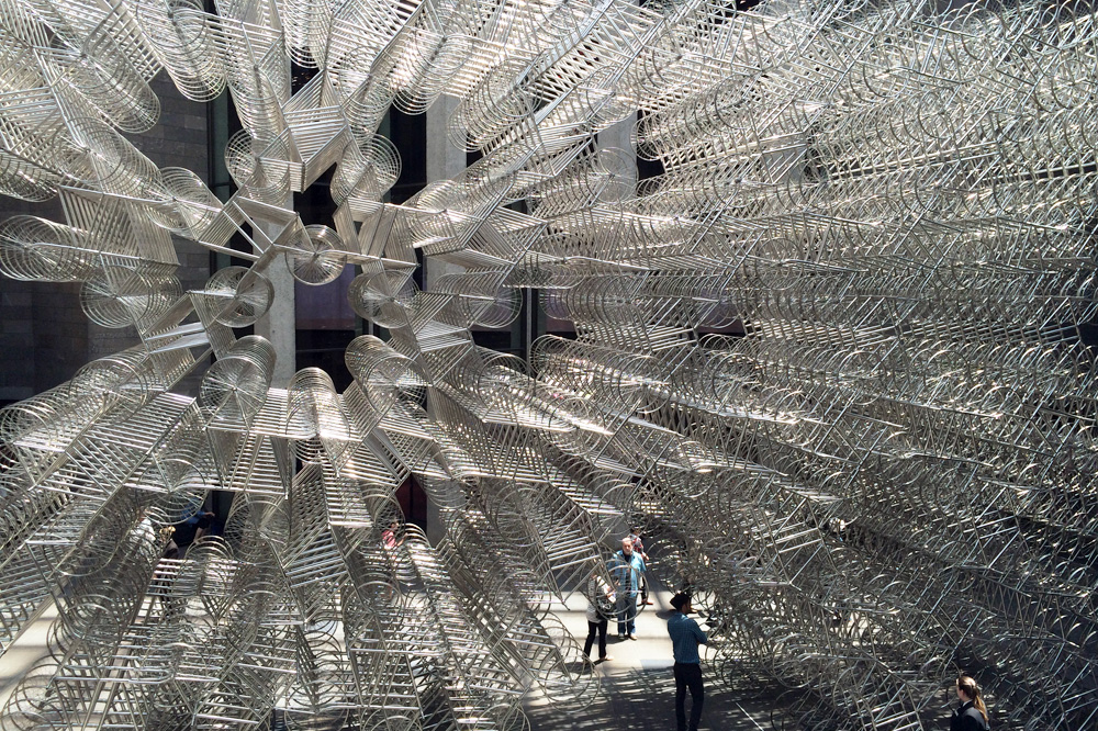 Ai Wei Wei_Forever Bicycles  2015