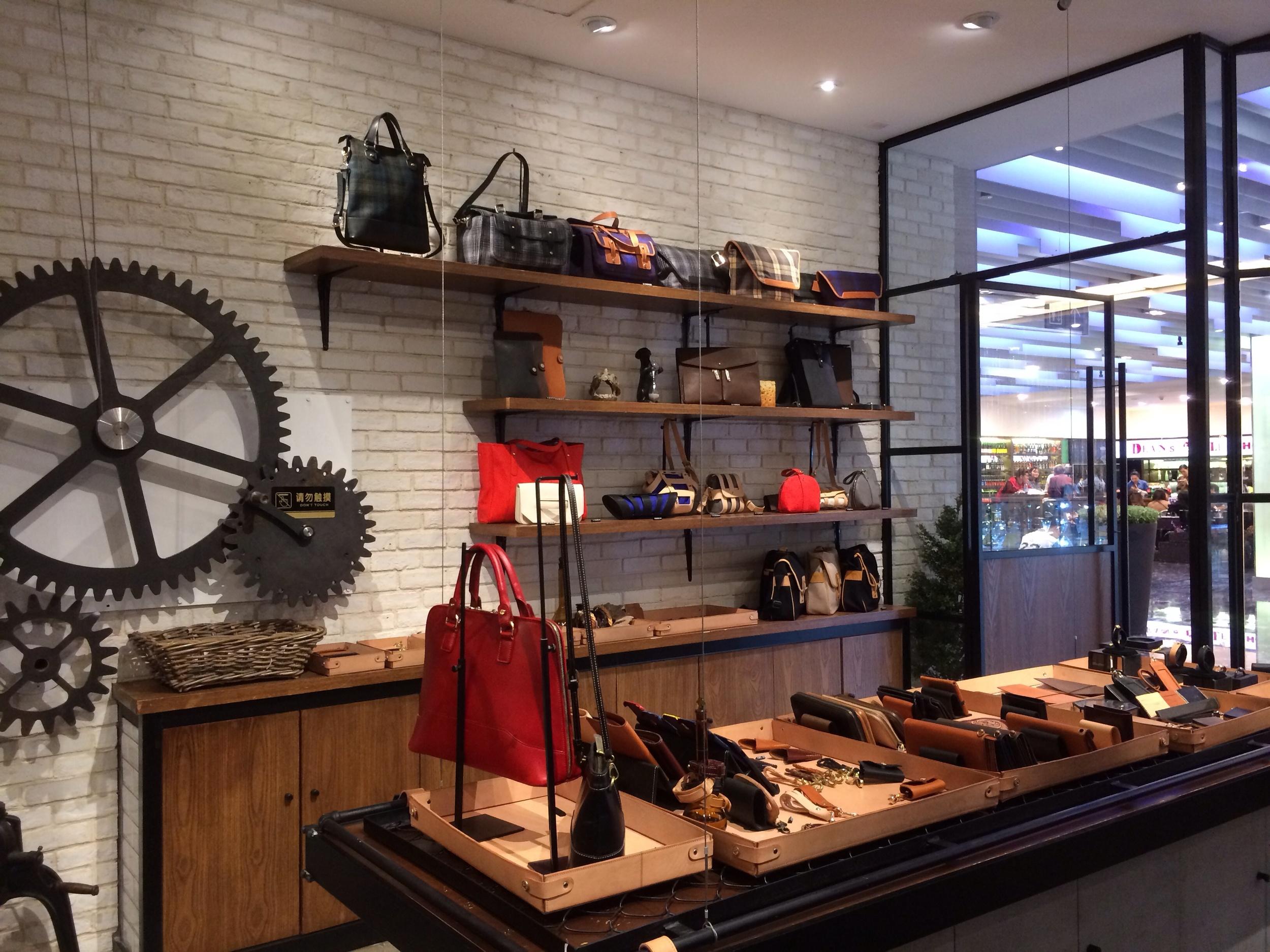 Shop interior.