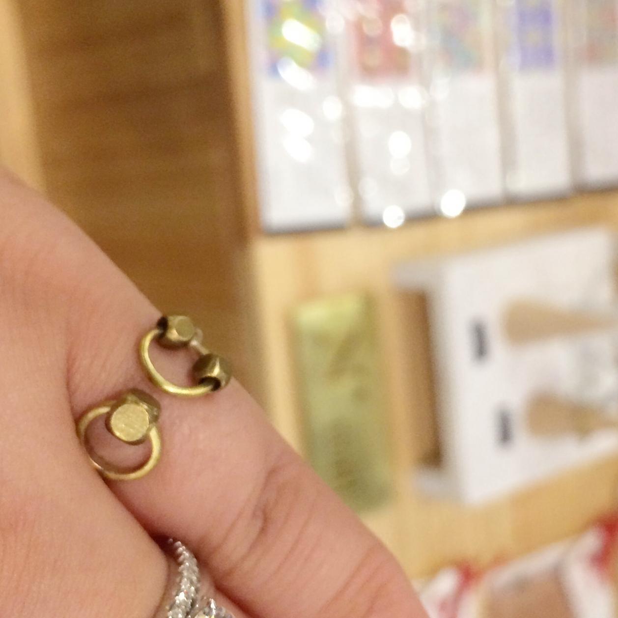 Cute brass ring.