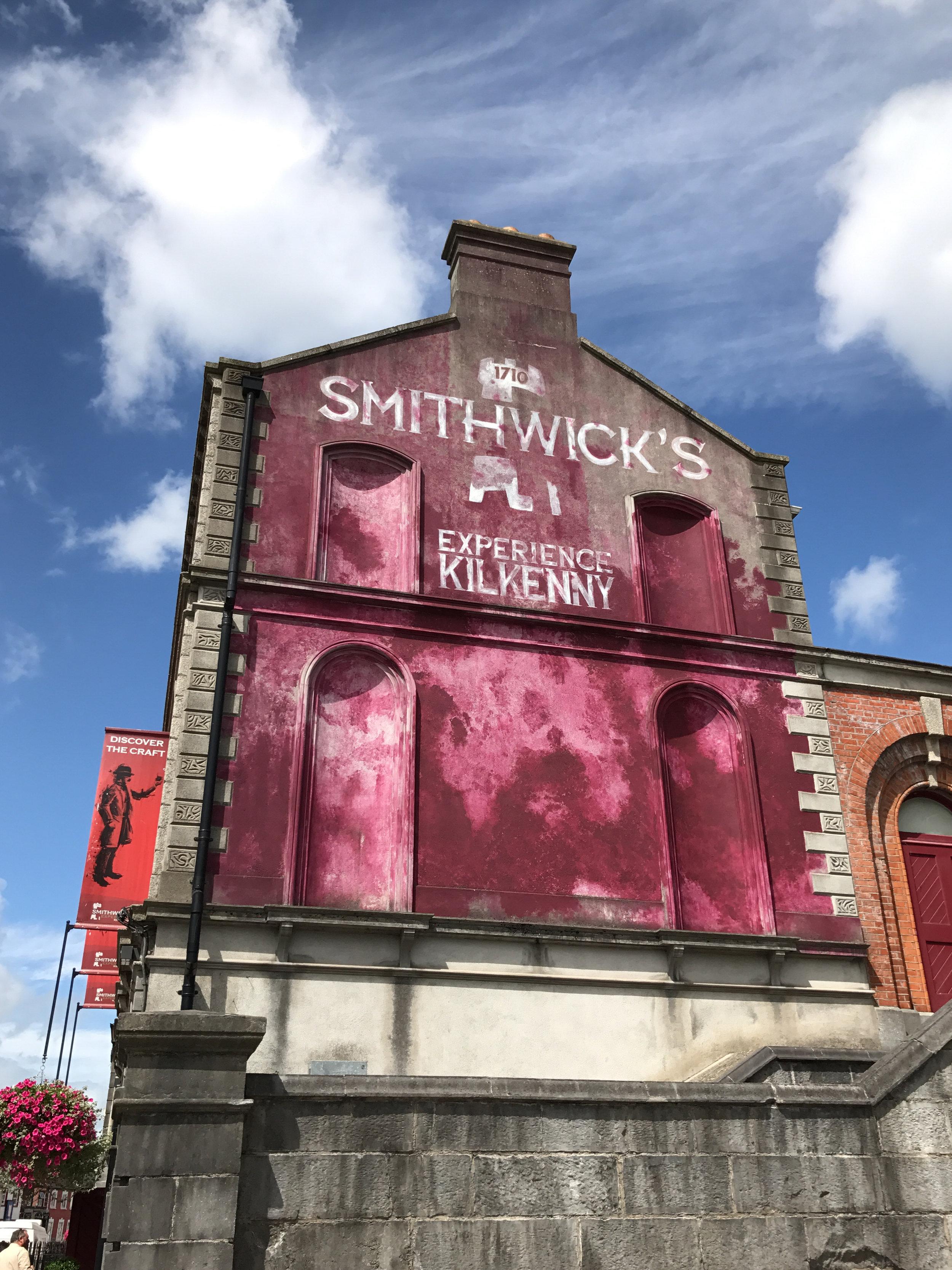 Smithwicks beer tour, Kilkenny