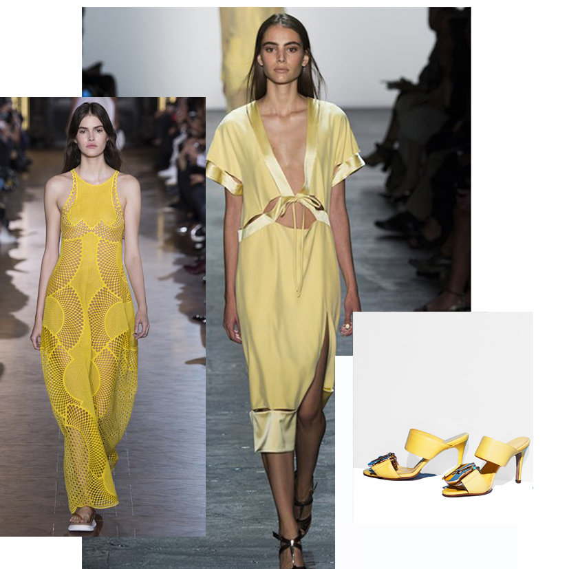 Leading the marigold colour trend:Stella McCartney, Prabal Gurang, Mifani
