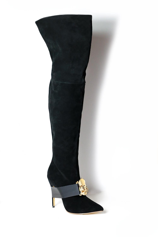 OTK - Black over the knee boots