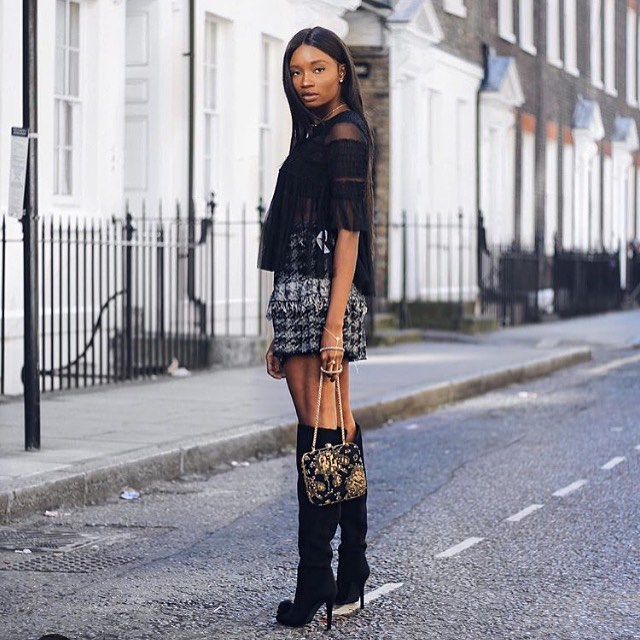 @paulaokunzuwa totally slays in our Pom Pom knee high boots!! #mifani #autumn #shoes #boots #pompom #girlsquad #womensdesigner #womensstyle #womensfashion #womensshoes #fashion #fashionista #fashionstyle #fashionlover #style #stylist #ootd #friday #shoesporn #kneehighboots #instastyle #shoesaddict #footwear #stylediaries #potd #fblogger #fashionblogger