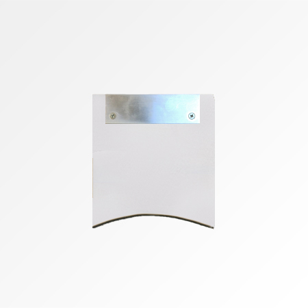 White Painted Wall Fixing Kit