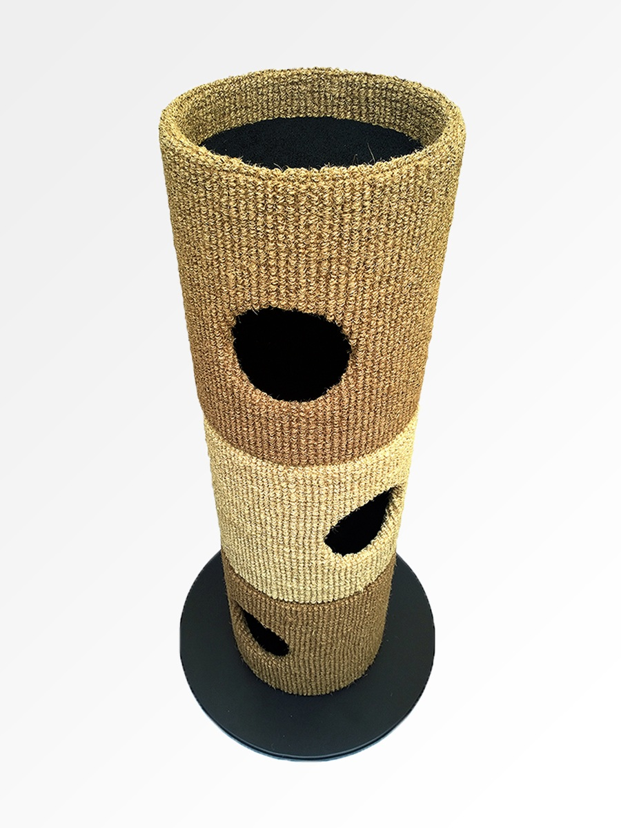 Catapilla™ finished in Bleached & Natural Coir