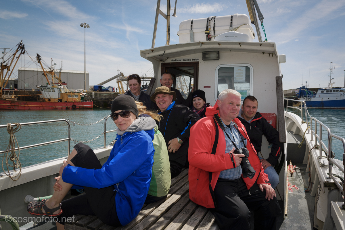 On the boat to the Saltees