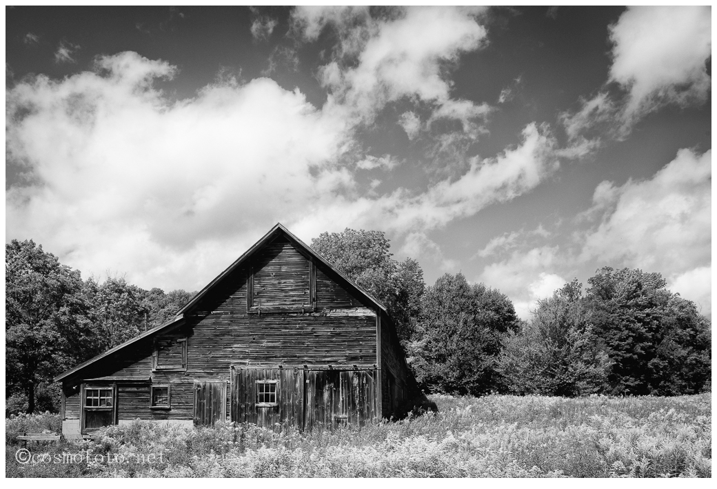 An old barn in Vermont