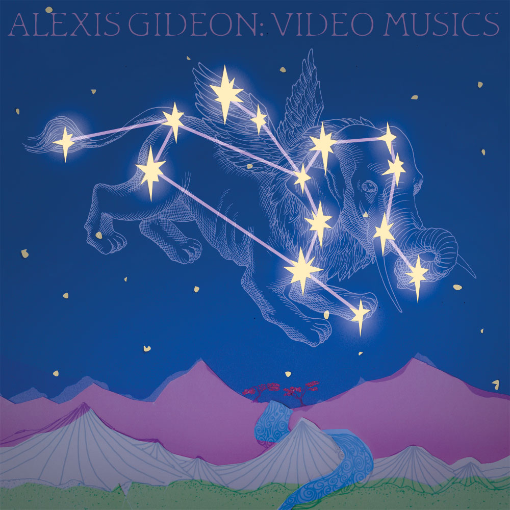 "Alexis Gideon's ""Video Musics"" album art"