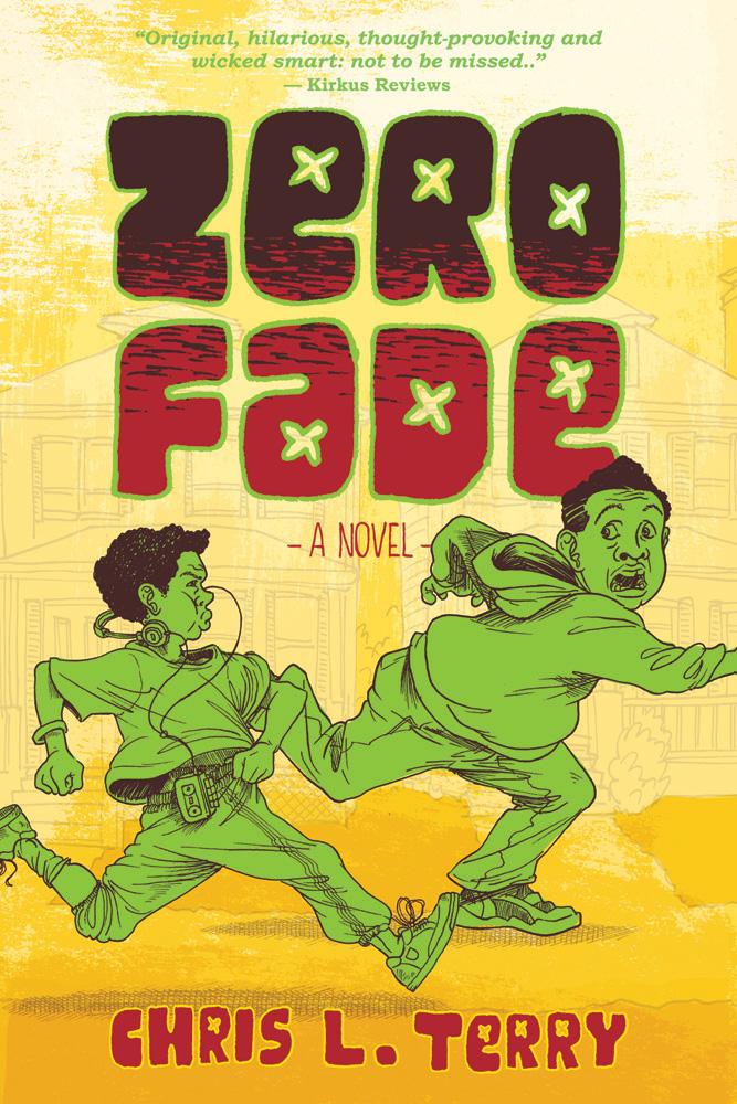 """""""Zero Fade"""" book cover"""