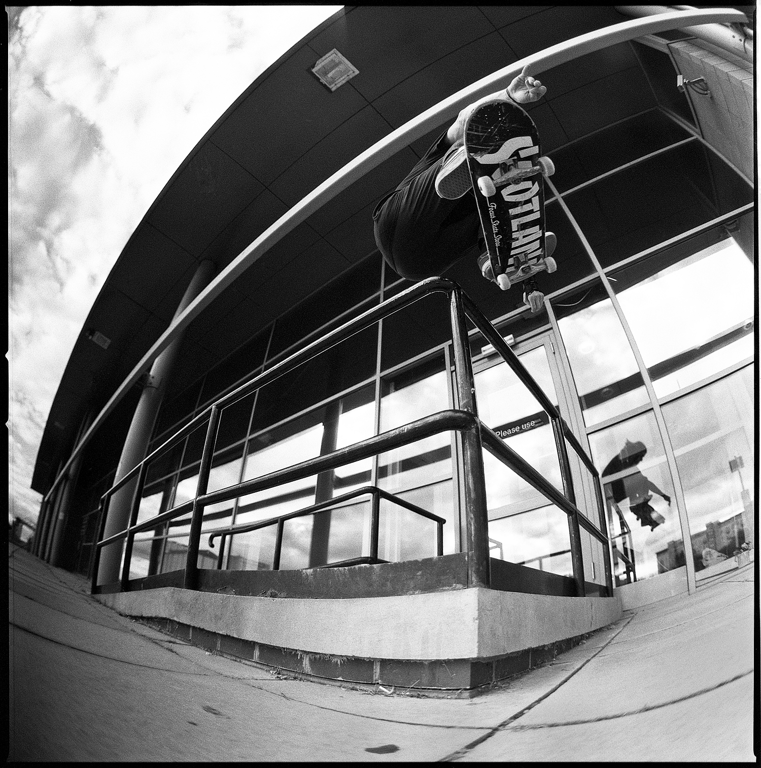FS 180 - Shot on the Hasselblad 2003FCW with Ilford Delta 3200 film  Photo: Graham Tait