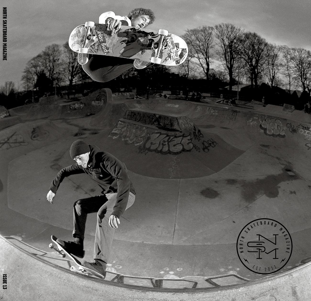 Cover: Kieran Menzies & Daniel Nicholas  Photo: Graham Tait