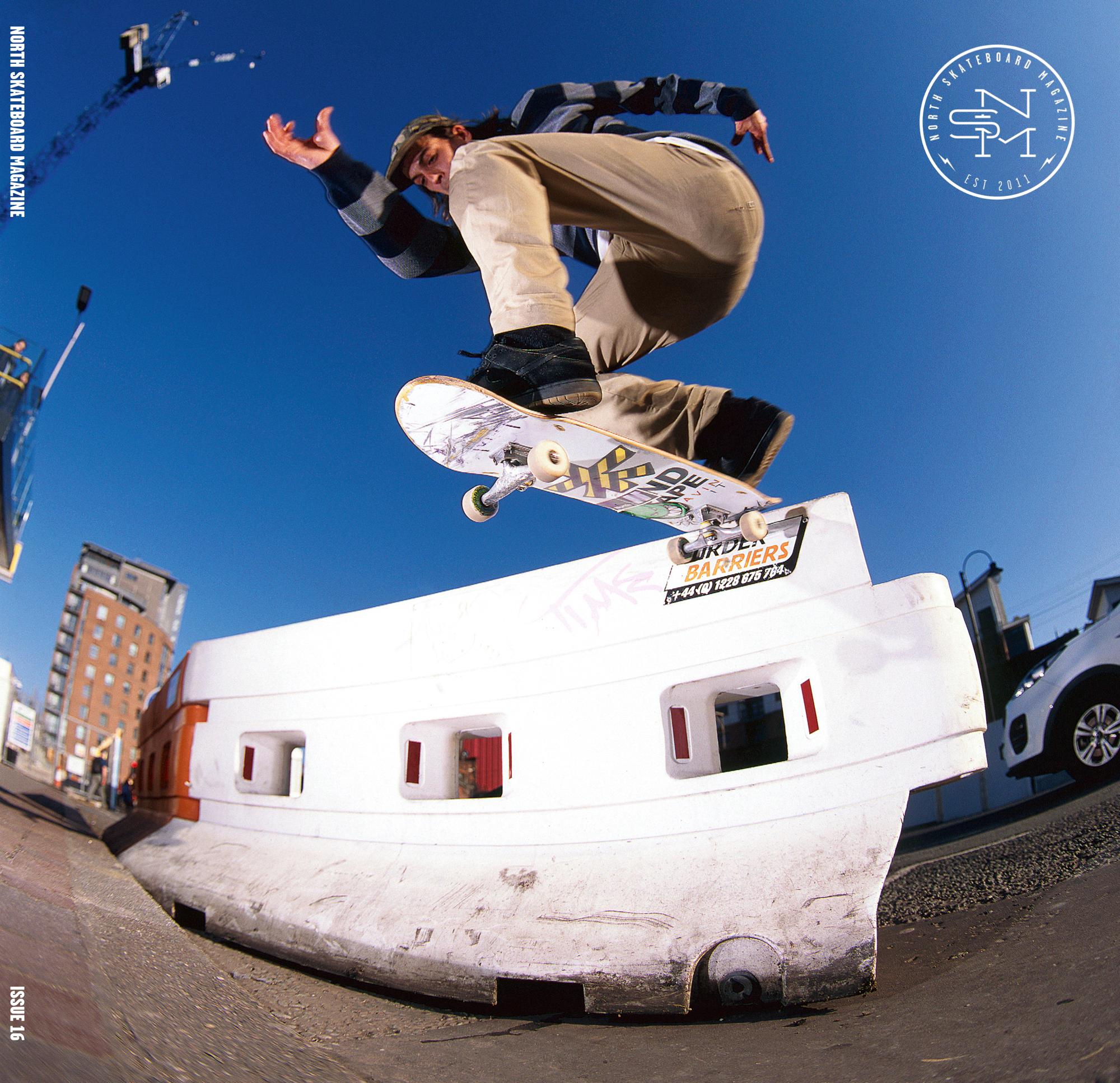 Cover: Joe Gavin - Nollie BS Tailslide  Photo: Graham Tait