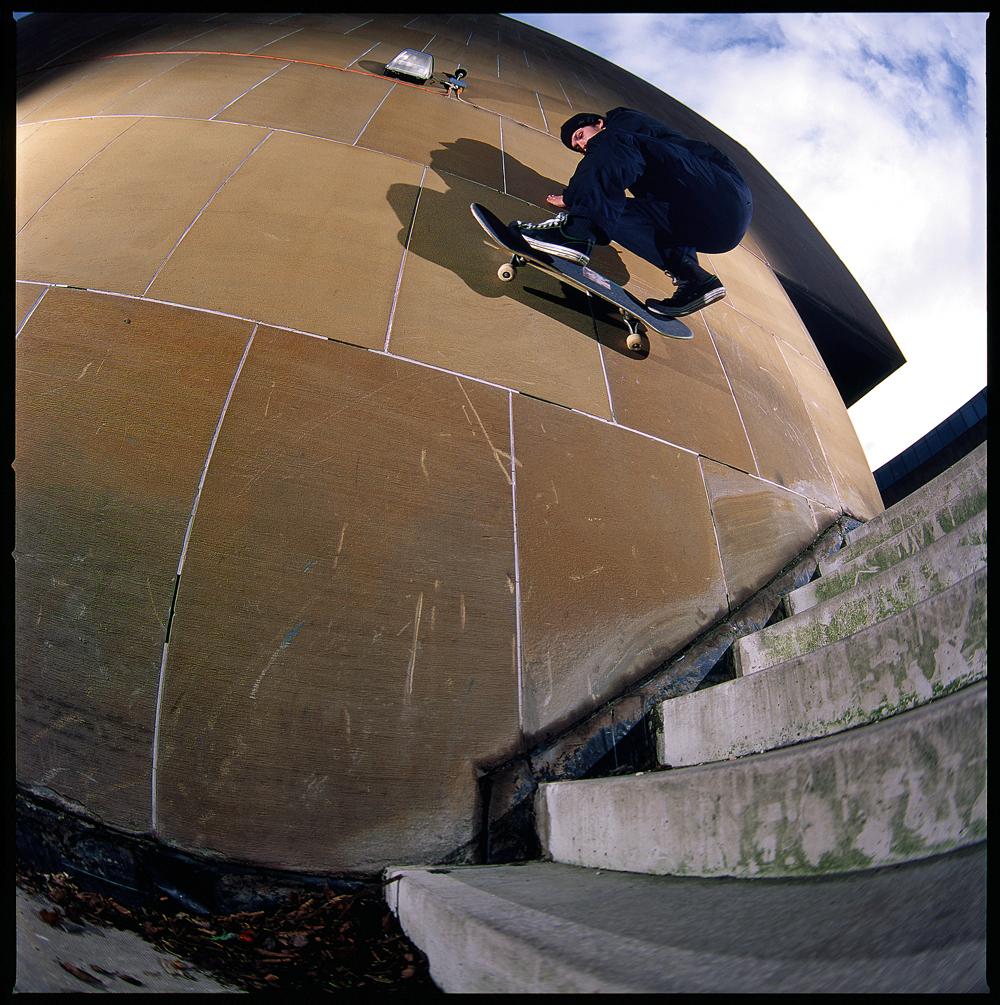 Rory Muirhead - FS Wallride  Photo: Graham Tait